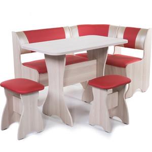 Набор мебели для кухни Бител Тюльан - комби (ясень терра эффект-112 + С-101 ясень)