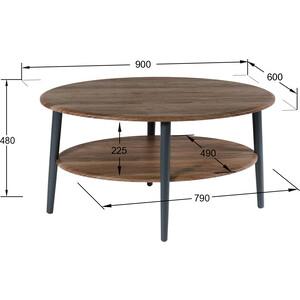 цены Стол журнальный Калифорния мебель Эль СЖ-01 грецкий орех