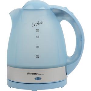 Чайник электрический FIRST FA-5427-1-BU чайник first 5427 1