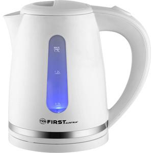 Чайник электрический FIRST FA-5427-4 White чайник first fa 5427 3 white grey