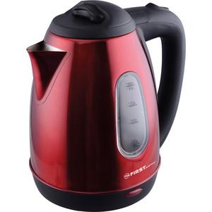 Чайник электрический FIRST FA-5410-6 Red стайлер first fa 5671 6 red
