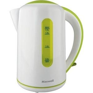 Чайник электрический Maxwell MW-1028(G) чайник maxwell mw 1028 g белый 2200 1 7л