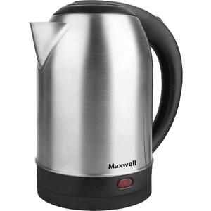 Чайник электрический Maxwell MW-1077(ST) шашлычница maxwell mw 1990 st