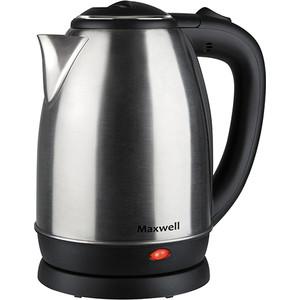 Чайник электрический Maxwell MW-1081(ST) maxwell mw 1081 st gray metallic электрический чайник