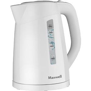 где купить Чайник электрический Maxwell MW-1097(W) дешево