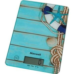 Кухонные весы Maxwell MW-1473(B) весы кухонные maxwell mw 1473 b голубой рисунок