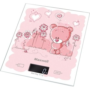 Кухонные весы Maxwell MW-1477(PK) home philosophy ваза matilla 14х22х27 см
