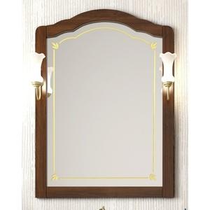 Зеркало Opadiris Лоренцо 80 светлый орех, для светильников 00000001041, Z0000001408 (Z0000006756) зеркало в деревянной раме opadiris риспекто 105 антикварный орех для светильников 00000001041 z0000001408 z0000000694
