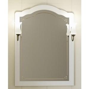 Зеркало Opadiris Лоренцо 80 белый, для светильников 00000001041, Z0000001408 (Z0000008464) зеркало opadiris тибет 50 белый матовый для светильников z0000006243 z0000012652