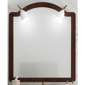 Зеркало Opadiris Виктория 90 светлый орех с темной патиной, для светильников Z0000002331 (Z0000001175) opadiris капри 90 с зеркалом белый нагал