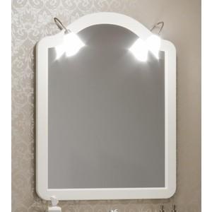 Зеркало Opadiris Виктория 90 слоновая кость, для светильников Z0000002331 (Z0000012695) зеркало шкаф comforty палермо 90 слоновая кость
