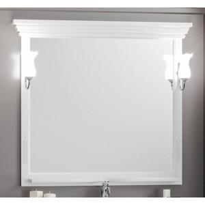Зеркало в деревянной раме Opadiris Риспекто 105 белый, для светильников 00000001041, Z0000001408 (Z0000001440) зеркало в деревянной раме opadiris риспекто 105 слоновая кость для светильников 00000001041 z0000001408 z0000006704
