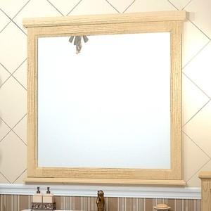 Зеркало в деревянной раме Opadiris Гарда 90 бьянко (Z0000002400) opadiris капри 90 с зеркалом белый нагал