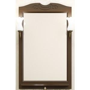 Зеркало в деревянной раме Opadiris Клио 65 антикварный орех, для светильников 00000001041, Z0000001408 (Z0000004272)