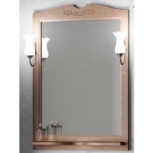 Зеркало в деревянной раме Opadiris Тибет 70 антикварный орех, для светильников 00000001041 (Z0000004706) тумба с раковиной opadiris тибет 70 антикварный орех со стеклом z0000009467 00000000900
