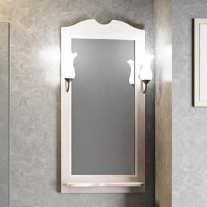 Зеркало в деревянной раме Opadiris Тибет 50 белый, для светильников 00000001041 (Z0000004146) зеркало в деревянной раме opadiris тибет 50 белый для светильников 00000001041 z0000004146