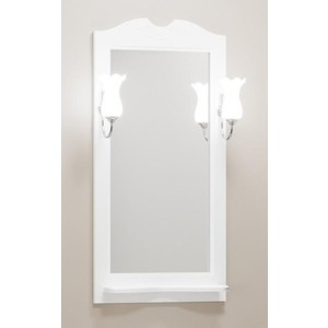 Зеркало Opadiris Тибет 50 белый матовый, для светильников Z0000006243 (Z0000012652) зеркало opadiris тибет 50 белый матовый для светильников z0000006243 z0000012652