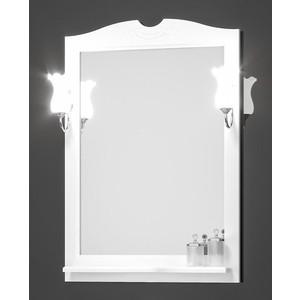 Зеркало в деревянной раме Opadiris Тибет 80 слоновая кость, для светильников 00000001041 (Z0000006653) зеркало в деревянной раме opadiris тибет 50 белый для светильников 00000001041 z0000004146