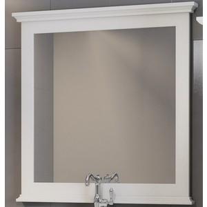 Зеркало в деревянной раме Opadiris Палермо 90 белый (Z0000008548)