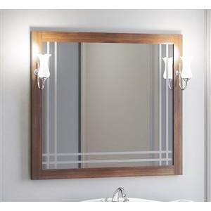 Зеркало в деревянной раме Opadiris Сакура 100 светлый орех, для светильников Z0000006243 (Z0000010268) средство для мытья посуды finish 170707595496 для посудомоечных машин 65