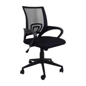 Кресло Стимул-групп CTK-XH-6010 CH black (черная сетка) от ТЕХПОРТ