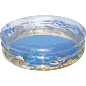 Надувной бассейн Bestway круглый Морская жизнь (51048) 170х53 см