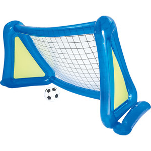 надувные батуты Футбольный набор Bestway 52215 (надувные ворота с брызгалкой и мяч) 254х112х130 см