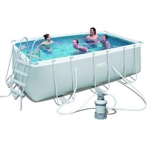 Каркасный бассейн Bestway прямоугольный 404х201х100 см (56255)