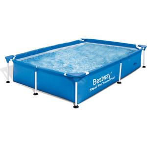 Каркасный бассейн Bestway 56402 прямоугольный бассейн 239х150х58 см (56402) бассейн каркасный bestway 56457 56244 прямоугольный 412х201х122 см