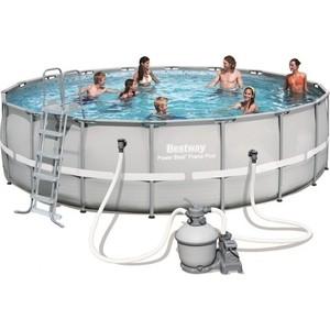 Каркасный бассейн Bestway (56464) 549х132 см 26000 л бассейн круглый на стойках 366х122 см bestway 56420