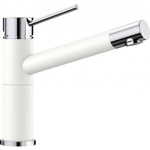 Смеситель для кухни Blanco Alta compact белый (515317) смеситель alta s compact chrome rock grey 518809 blanco