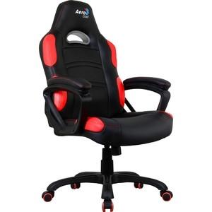 Кресло для геймера Aerocool AC80C AIR-BR черно-красное с перфорацией