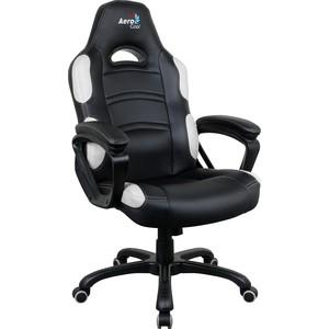 Кресло для геймера Aerocool AC80C AIR-BW черно-белое с перфорацией оригинал кресло мешок кожаное оригинал груша черно белое oo6 elyy 6276361