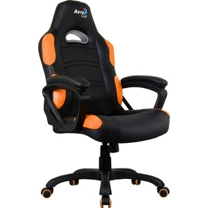 Фото Кресло для геймера Aerocool AC80C AIR-BO черно-оранжевое с перфорацией