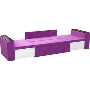 Детский диван АртМебель Арси микровельвет фиолетовый от ТЕХПОРТ