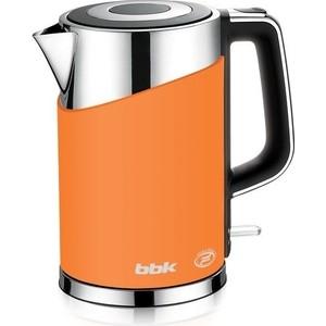 Чайник электрический BBK EK1750P оранжевый наушники bbk ep 1200s вкладыши оранжевый проводные
