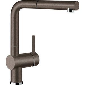 Смеситель для кухни Blanco Linus-s silgranit кофе (516697) клапан обратный канализационный наружный 110 мм