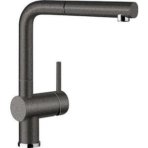Смеситель для кухни Blanco Linus-s silgranit антрацит (516688) клапан обратный канализационный наружный 110 мм