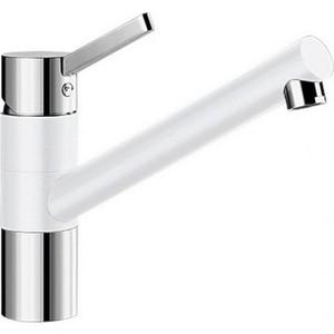Фотография товара смеситель для кухни Blanco Tivo silgranit белый (517603) (84618)