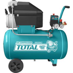 Компрессор масляный TOTAL TC125506 компрессор масляный total tc1300506