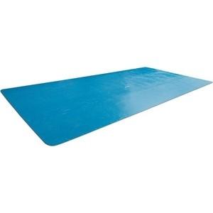 Солнечное покрывало Intex для бассейна Rectangular Frame 400x200 см (29028) чаша intex 10615 для каркасного бассейна metal frame pool 305x76 см