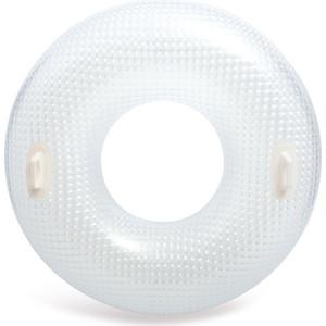 Надувной круг Intex с ручками Кристалл 114 см (56264) надувной круг ходунки intex островок с навесом 56590
