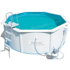 Стальной бассейн Bestway Hydrium Pool Set 300x120 см (56566 ) 7630 л jilong prompt set pool 450х90