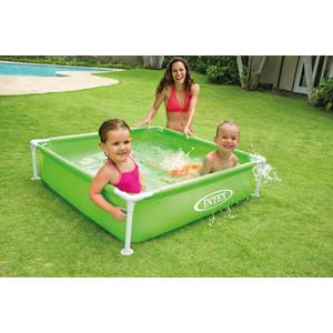 Каркасный бассейн Intex Mini Frame 122x122x30 см (57172) 337л от ТЕХПОРТ