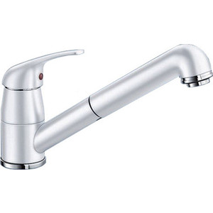 Смеситель для кухни Blanco Daras-s silgranit белый (524193/517735) смеситель для кухни blanco daras 517725