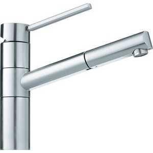 Смеситель для кухни Franke 350 с выдвижным шлангом (115.0006.694) смеситель для кухни kludi l ine с выдвижным изливом 428210577