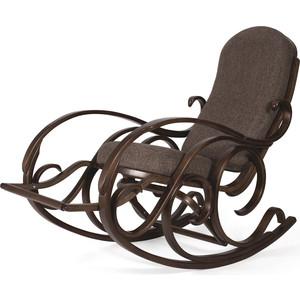 Кресло-качалка Мебелик Тенария 5 темно-коричневый