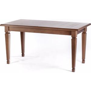 Стол обеденный Мебелик Васко орех 120х80 письменный стол васко соло 021