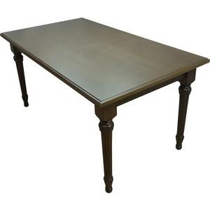 Стол обеденный Мебелик Жерар 01 орех 120/170х80 стол обеденный опора металл орех монпелье 432903 шатура столы обеденные