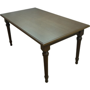 Стол обеденный Мебелик Жерар орех 120х80 стол обеденный опора металл орех монпелье 432903 шатура столы обеденные